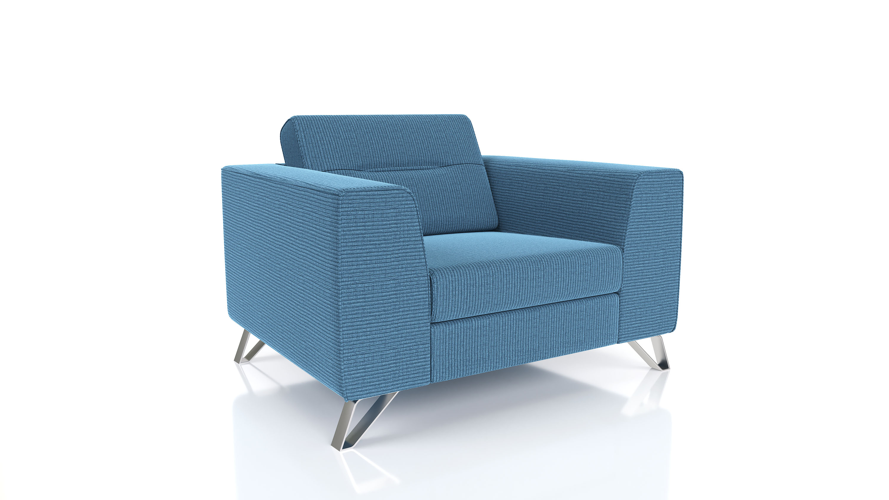 product render furniture loveseat