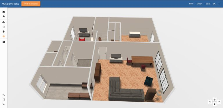 Design your house with the Roomplanner