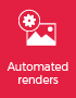 Fully automated live product rendering process