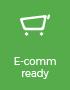 e-commerce ready, plug & play